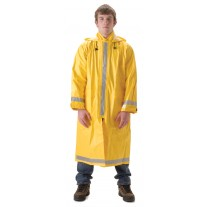 "NASCO ArcLite 1103CY FR Rainwear - Full Length Coat 48"" - Yellow"