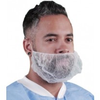 Keystone Large Beard Net - Nylon - Honeycomb - 100% Latex Free - 1,000 / Case