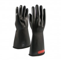 NOVAX Class 0 Rubber Insulating Glove with Straight Cuff - 14""