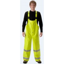 NASCO ArcLite 1501TFY FR Rainwear - Bib Style Trouser Only - Hi Vis Yellow