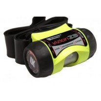 3AAA Vizion Z3 Headlamp with Rubber Band, Safety Yellow