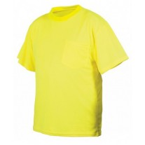 Pyramex RTS2110NS Hi Vis Yellow Safety T-Shirt - Non-Rated