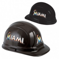 Miami Marlins Hard Hat - (CLEARANCE - LIMITED STOCK AVAILABLE)