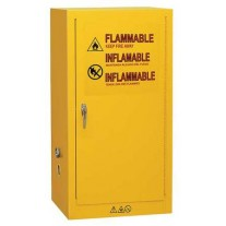 Condor Flammable Safety Cabinet, 16 Gal., Yellow
