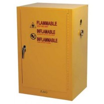 Condor Flammable Safety Cabinet, 12 Gal., Yellow