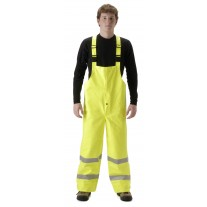 NASCO Sentinel 4501TFY FR Rainwear - Bib Style Trouser Only - Hi Vis Yellow