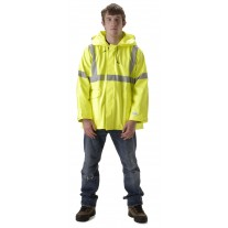NASCO Sentinel 4503JFY FR Rainwear - Waist Jacket Only - Hi Vis Yellow