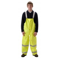 NASCO Omega 5001TFY FR Rainwear - Bib Style Trouser Only - Hi Vis Yellow