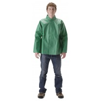 NASCO AcidBasic 52JG Chemical Splash Rainwear - Rain Jacket Only - Kelly Green