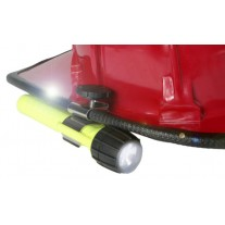Rylee Fire Helmet Flashlight Clip, For Use With 4AA/3AA UK Flashlights