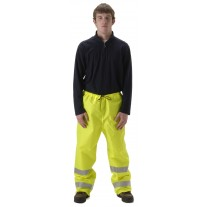 NASCO WorkLite HiVis 81PFY455 Rainwear - Rain Pants Only - Hi Vis Yellow