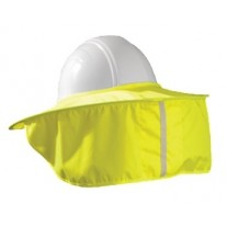 OccuNomix 899-HVY Stow Away Hard Hat Shade - Hi Vis Yellow