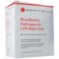 GFA 9999-2313-1 Blood-borne Pathogens and CPR Mask Pack Refill Pack