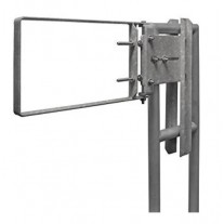 Fabenco A71-21 Self Closing Safety Gate A36 Carbon Steel Galnanized, Fits 22-24.5'' Opening