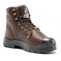 "Steel Blue Argyle-Met Bump 6"" Work Boots, TPU, Steel Toe"