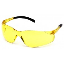 Pyramex Atoka S9130S Safety Glasses - Amber Lens - Amber Temples