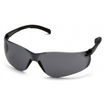 Pyramex Atoka S9120S Safety Glasses - Gray Lens - Clear Temples
