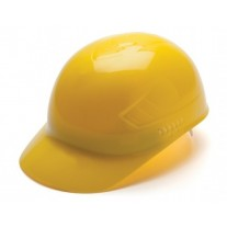 Pyramex HP40030 Ridgeline Bump Cap - 4 Point Glide Lock Suspension - Yellow,