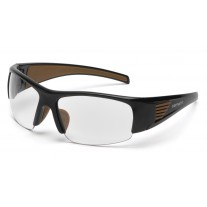 Carhartt Thunder Bay Safety Glasses Black Frame Clear Anti-Fog Lens (CLOSEOUT - LIMITED STOCK AVAILABLE)