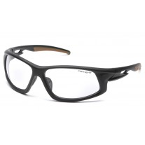 Carhartt Ironside Safety Glasses Black Frame Clear Anti-Fog Lens (CLOSEOUT - LIMITED STOCK AVAILABLE)