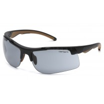 Carhartt CHB720DT Rockwood Safety Glasses Black Frame Gray Lens Anti-Fog