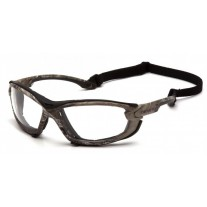 Carhartt Toccoa CHRT1010DTMP Safety Glasses - Foam Carriage Lined - Realtree Camo Frame  - Clear H2MAX Anti-Fog Lens - (CLOSEOUT)