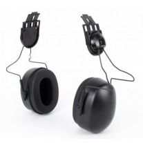 Pyramex CMFB6010 Full Brim (Slotted Hats Only) Cap Mounted Ear Muffs - NRR 23