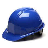 Pyramex SL Series Cap Style Hard Hat Standard Shell 6 Pt- Snap Lock Suspension, Blue, HP16060