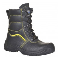 Portwest FW05 Steelite Fur Lined Protector Boot, Steel Toe