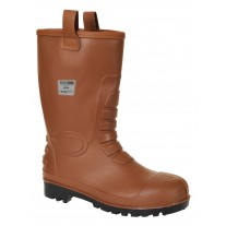 Portwest FW75 Neptune Rigger Insulated PVC Boot - Steel Toe