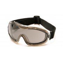 Pyramex G724T Chemical Splash Goggles - Low Profile - Gray Anti-Fog Lens