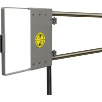 """Fabenco G72-27 Self Closing Safety Gate A36 Carbon Steel Galvanized, Fits 24"""" – 30"""" Opening"""