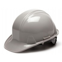 Pyramex HP14112 SL Series Hard Hat - Cap Style - Standard Shell 4 Pt Ratchet Suspension - Gray