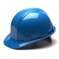 Pyramex HP14162 SL Series Hard Hat - Cap Style - Standard Shell 4 Pt Ratchet Suspension - Light Blue