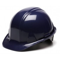 Pyramex HP14165 SL Series Hard Hat - Cap Style - Standard Shell 4 Pt Ratchet Suspension - Dark Blue