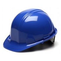 Pyramex SL Series Cap Style Hard Hat Standard Shell 6 Pt Ratchet Suspension, Blue, HP16160