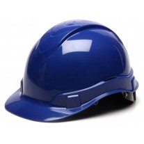Pyramex HP46160 Ridgeline Hard Hat - Cap Style - 6 Pt Ratchet Suspension - Blue
