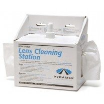 Pyramex Lens Cleaning Station w/8 oz Cleaning Solution/600 tissues