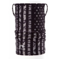 Pyramex MPBELFLG Camo Flag Multi-Purpose Cooling Band with Ear Loops