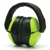Pyramex PM8031 Hi-Vis Lime Ear Muff - NRR 26dB