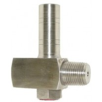 "PIC Pressure Limiting Valve, 1/4"" NPT, MxF, 316 SS Body, 102 - 232 PSI"