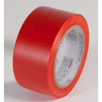 """Incom PST212 Safety Red Aisle Tape - 2"""" x 108'"""