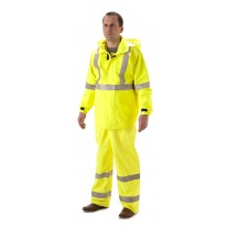 NASCO Rampart 8503JFY FR Rainwear - Rain Jacket Only - Hi Vis Yellow