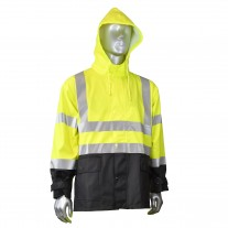 Radians FORTRESS™35 Hi Viz Yellow Rain Jacket (CLOSEOUT - LIMITED STOCK)