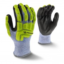 Radians RWG604 Cold Weather Coated ANSI A4 Cut Resistant Glove - Pair