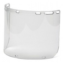 Pyramex S1210CC PC Cylinder Face Shield Only with Holes - Clear