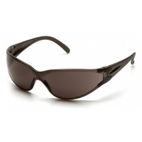 Pyramex Fastrac Safety Glasses, Clear Frame, Gray Lens