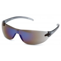 Pyramex Alair Safety Glasses - Blue Mirror Frame - Blue Mirror Lens