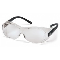 Pyramex S3510SJ OTS Safety Glasses - Black Temples - Clear Lens