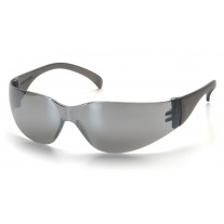 Pyramex Intruder S4170S Safety Glasses, Silver Mirror Frame, Silver Mirror-Hardcoated Lens
